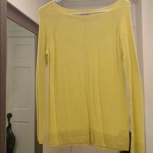 Yellow Gao Sweater
